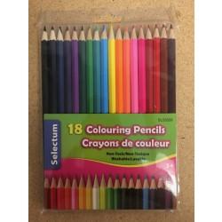 Selectum Colored Pencils ~ 18 per pack
