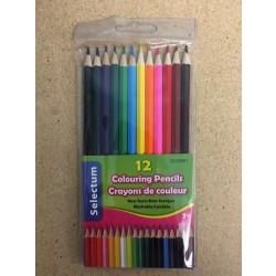 Selectum Colored Pencils ~ 12 colors