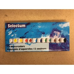 Selectum Water Color Paints ~ 12 per box