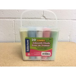 Sidewalk Chalk ~ 20 pieces per bucket