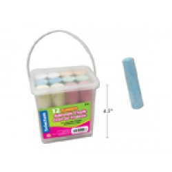 Sidewalk Chalk ~ 12 pieces per bucket