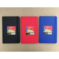 "Selectum Hardcover Notebook with Elastic (5.5"" x 8.5"") Ruled ~ 140 pages"