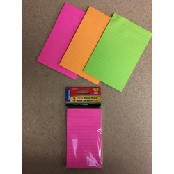 "Selectum Ruled Sticky Notes ~ 3"" x 5""  ~ 75 pages"
