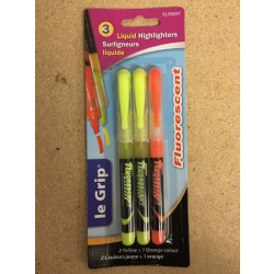 Selectum Liquid Highlighters ~ 3 per pack