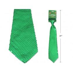 St. Patrick's Day Sequin Neck Tie with Elastic