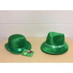 St. Patrick's Day Velvet Hat