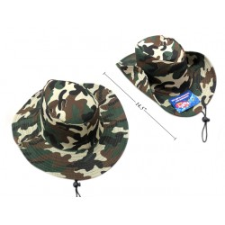 Tilley Style Camoflauge Hat with String