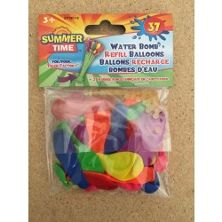Water Bomb Filler Factory Refill Balloons ~ 37 pieces