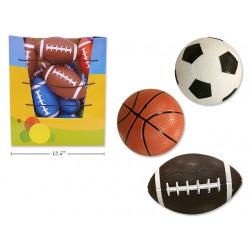 Classic Mini Sport Balls - 3 assorted
