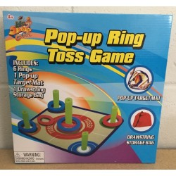 Pop-Up Ring Toss Game ~ 8 pieces