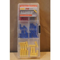 Butt Connector Assortment Kit ~ 76 pieces