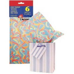 Tissue Paper - RIBBONS ~ 6 per pack