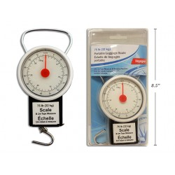 Portable Luggage Scale with Built-In 1M Tape Measure