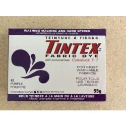 Tintex Fabric Dye 55gr ~ 02 - Purple