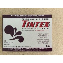 Tintex Fabric Dye 55gr ~ 03 - Dark Plum