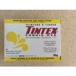 Tintex Fabric Dye 55gr ~ 05 - Brilliant Yellow