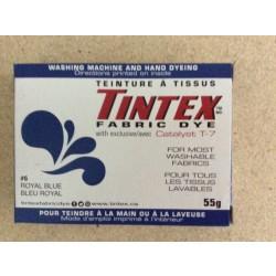 Tintex Fabric Dye 55gr ~ 06 - Royal Blue