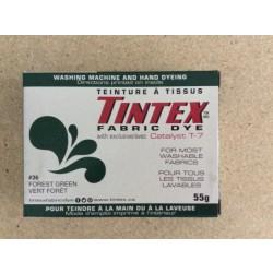 Tintex Fabric Dye 55gr ~ 36 - Forest Green
