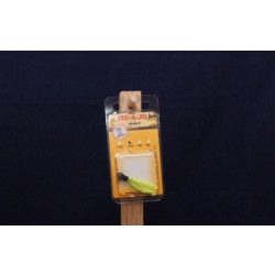 Jig-A-Jo Classique Jigs - 1/16oz ~ Black Head / Chartreuse Hair