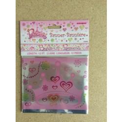 "Foil Banner - 12' ~ ""Birthday Princess"""