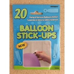 Balloon Stick-Up ~ 20 per pack