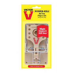 Victor Power Kill Rat Trap ~ 1 per pack