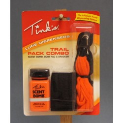 TINK'S Trail Pack Combo Lure Dispenser ~ 3/pk