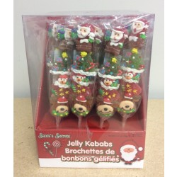 Christmas Jelly Kebabs - 24/display
