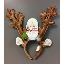 """Plush Reindeer Antlers  ~ 14""""L"""