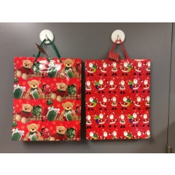 Jumbo Christmas Gift Bags ~ Extra Wide Vertical