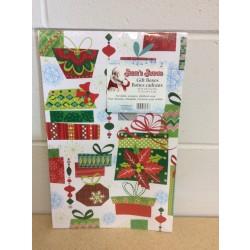 "Christmas Gift Boxes - 14-3/4"" x 9-1/2"" x 2"" ~ 2/pk"
