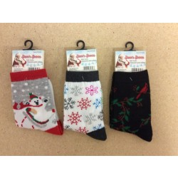 Christmas Kid's Socks ~ Sizes 6 - 7-1/2