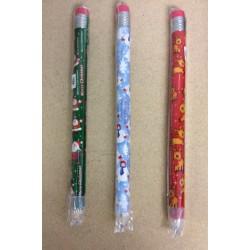"Christmas Jumbo Pencil 16"" ~ 3 asst"