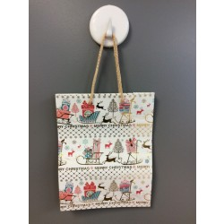Medium Christmas Gift Bags ~ with Merry Christmas