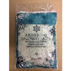 Christmas Artificial Snowflakes ~ 3oz bag