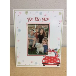 "Christmas Wooden Picture Frame ~ 5"" x 7"""
