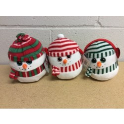 Christmas Snowball Plush with Music
