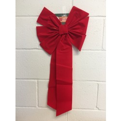 "Giant Red Christmas Bow ~ 30"" x 14"" x 4"""