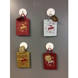 Small Christmas Gift Bags ~ Reindeer