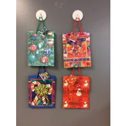 Medium Christmas Gift Bags ~ Assorted Patterns