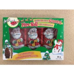 "Palmer's Chocolate ""Peanut Butter Santa"" - 3/pk ~ 85gr"