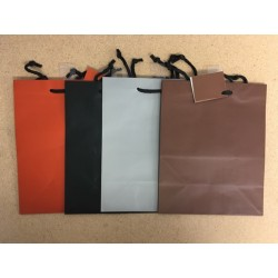 Medium Gift Bags ~ Solid Matte Colors