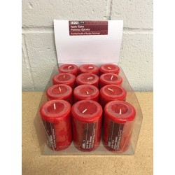 "Pillar Candle - 2"" x 3"" ~ Apple Spice"