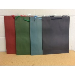Large Gift Bags ~ Kraft Bag Solid Colors