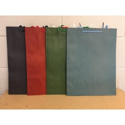 Jumbo Gift Bags ~ Kraft Bag Solid Colors