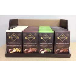 Versailles Assorted Chocolate Truffles made with Belgian Chocolate ~ 145gr box