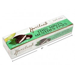 Christmas Haviland Chocolate Thin Mints ~ 85g box
