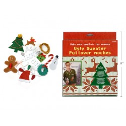 Christmas Make Your Own Ugly Sweater Costume Kit