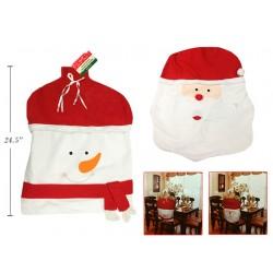 Christmas Santa or Snowman Felt Chair Cover ~ 1 per pack