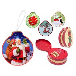 Christmas Die-Cut Ornament Gift Card Holder ~ 4.75""